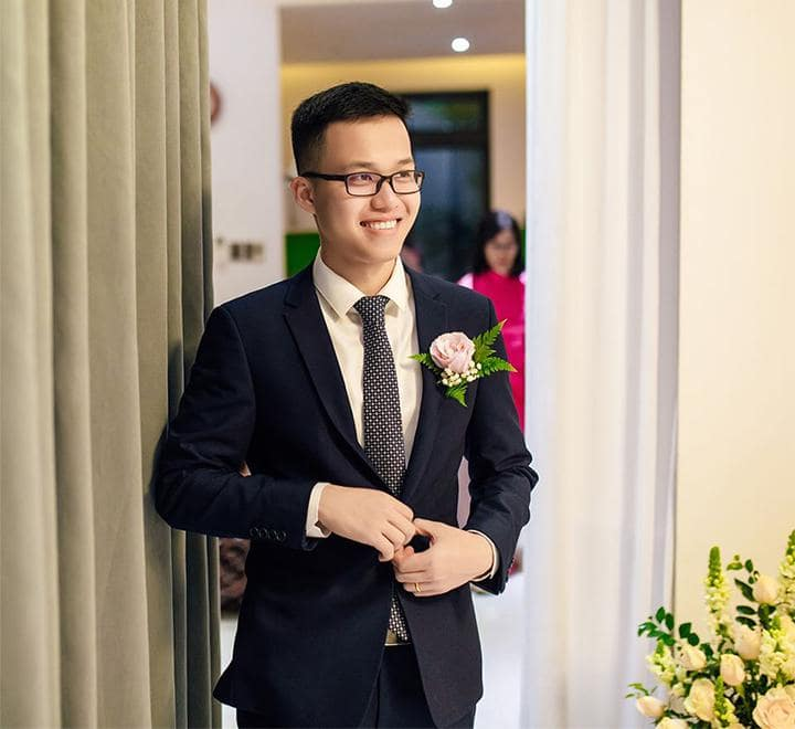 8 nguyên tắc chọn HOA CÀI ÁO chú rể ĐẸP trong ngày cưới