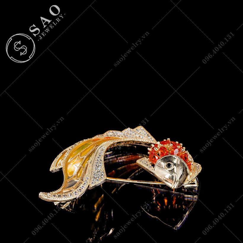 Cài áo cá cao cấp SAO - C346