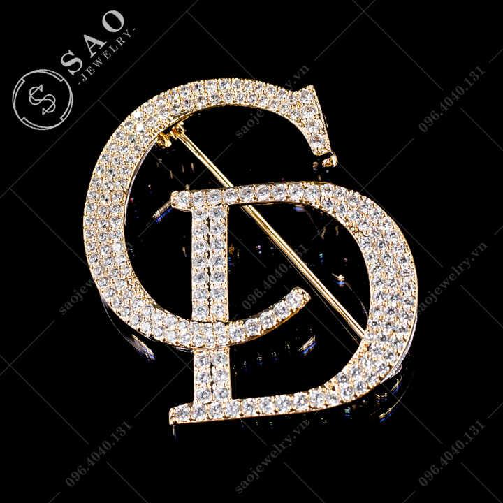 Cài áo CD Dior SAO - C592