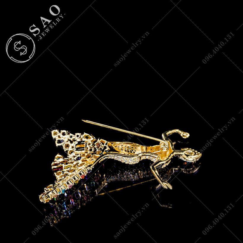 Cài áo công chúa sang trọng SAO - C349