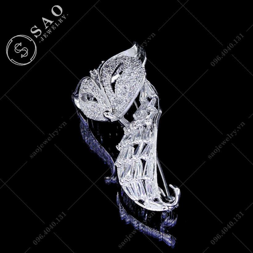 Cài áo nữ hồ ly cao cấp SAO - C130