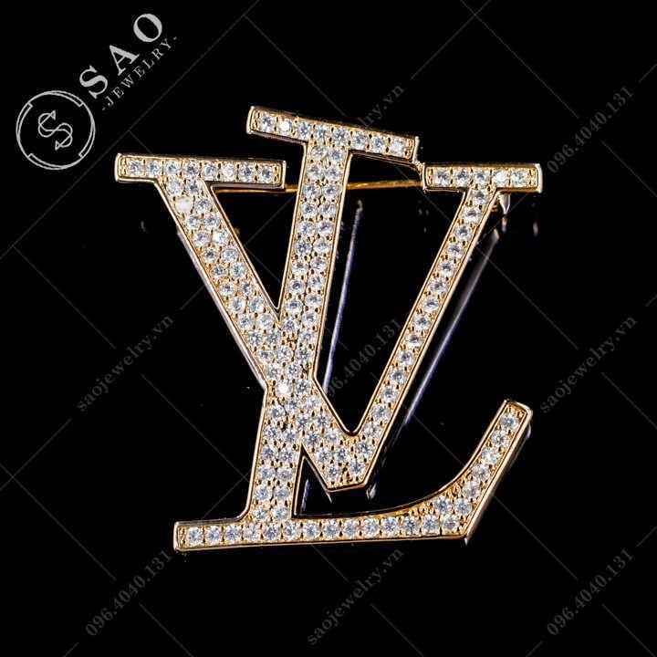 Cài áo LV cao cấp SAO - C579