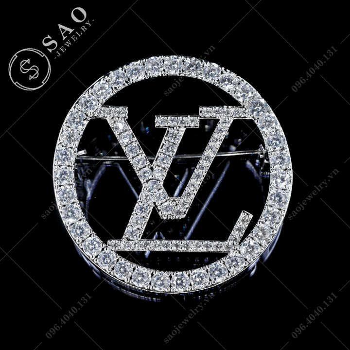 Cài áo LV đính đá sang trọng SAO - C488