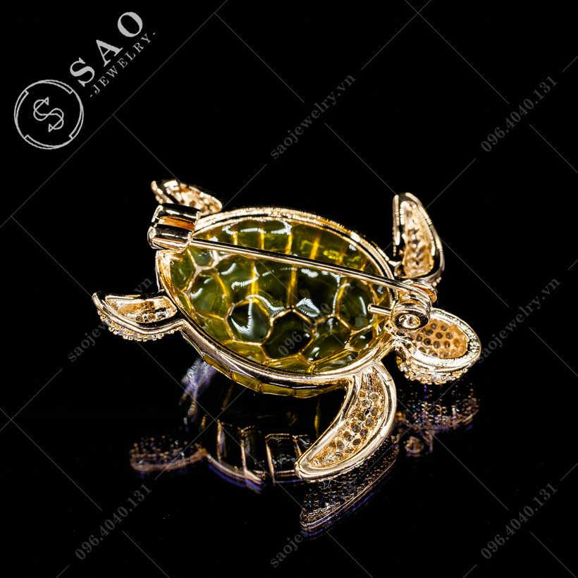 Cài áo rùa vàng dễ thương SAO - C340