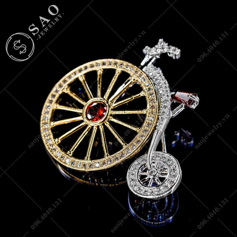 Cài áo xe đạp hàn quốc SAO - C375