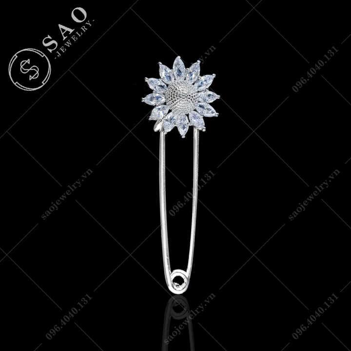 Ghim băng hoa hướng dương SAO - C584
