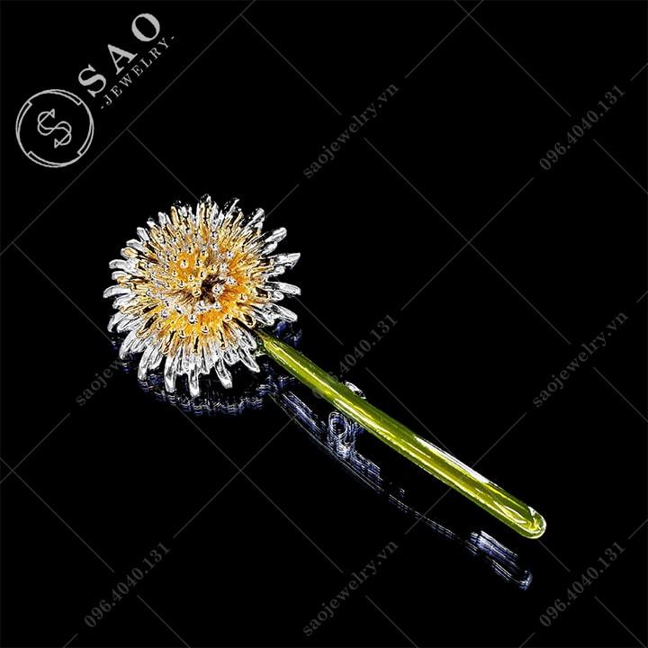 Hoa cài áo bồ công anh dễ thương SAO - C322