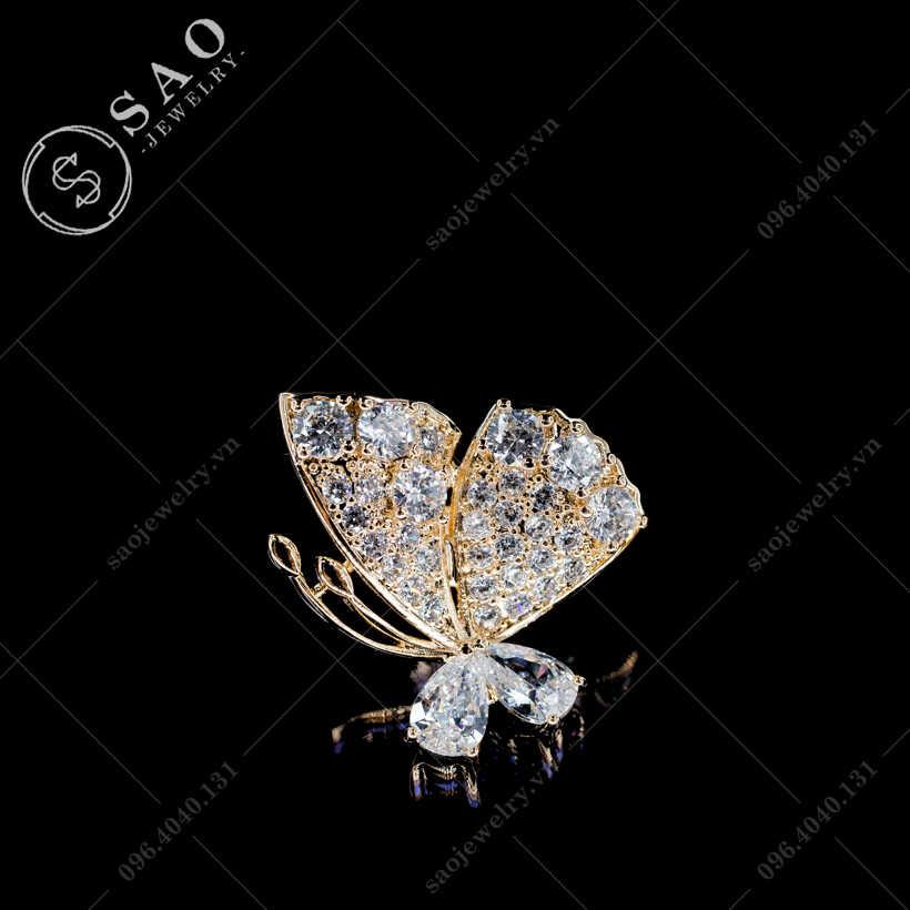 Khuy cài áo bướm SAO - K40