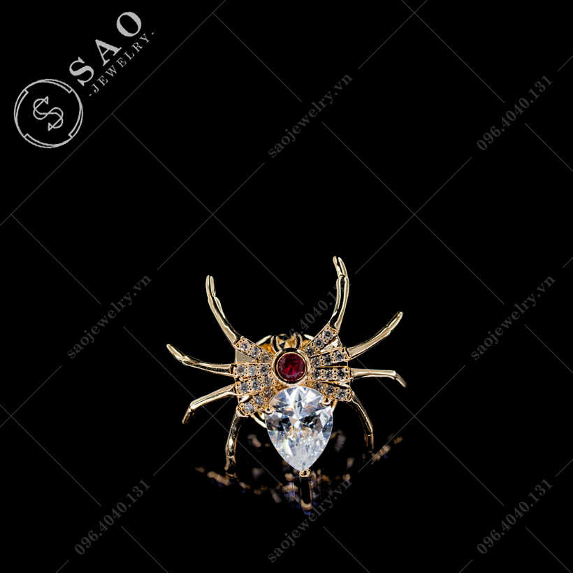 Khuy cài áo nhện SAO - K28
